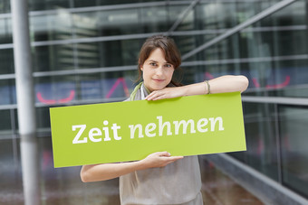 "Video: ""Zeit nehmen"" in der CAREERS LOUNGE"