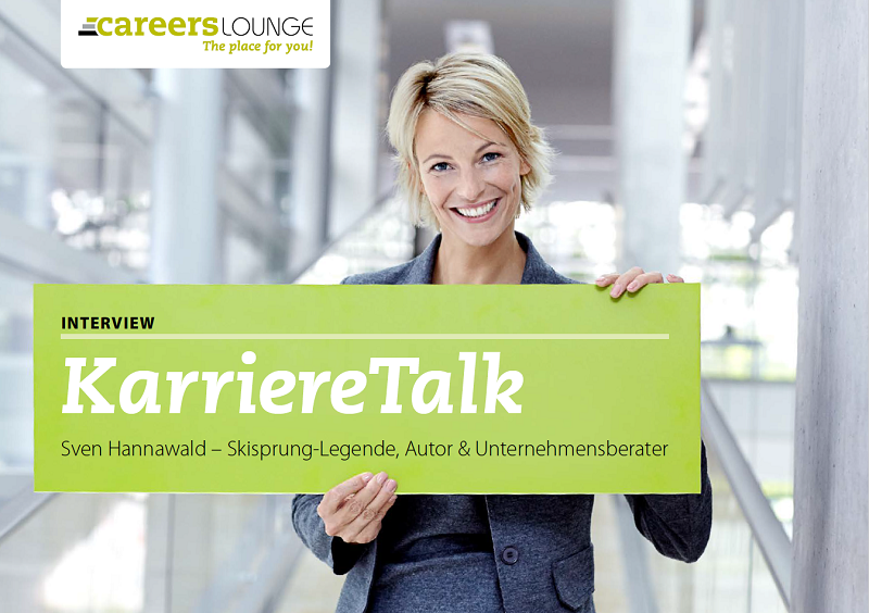 Der CAREERS LOUNGE E-Mail Newsletter